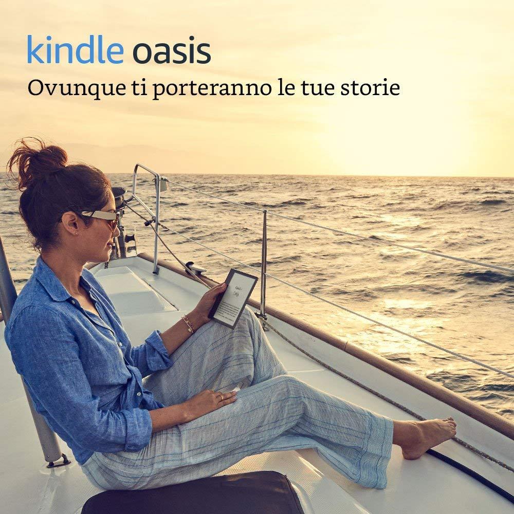 Nuovo e-book reader Amazon Kindle Oasis