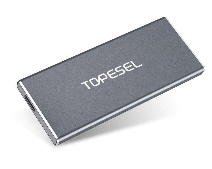 SSD Esterna Portatile da 250 GB TOPESEL