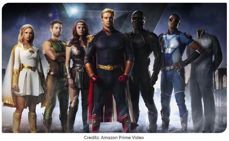 Supereroi un pò strani… su Amazon Prime Video