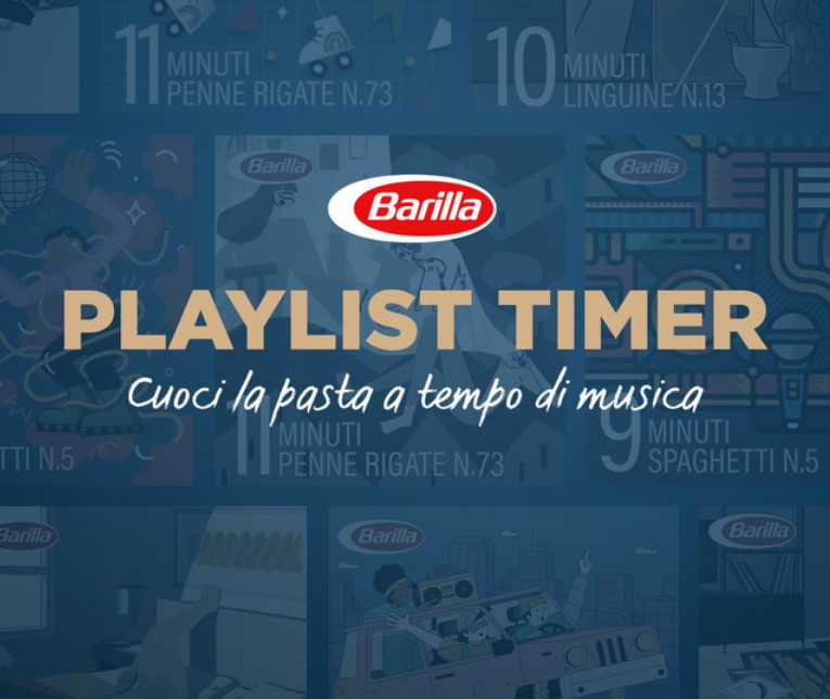 'Barilla Playlist Timer': comunicazione aziendale ai massimi livelli